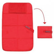 Baby travel changing pad red