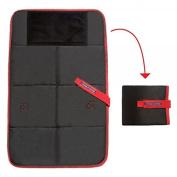 Baby travel changing pad black