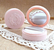 Topwon 6.6cm Portable Powder Puff Case / Face Powder Makeup Jar Travel Kit 10 ml