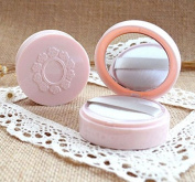 Topwon 6.6cm Portable Powder Puff Case / Face Powder Makeup Jar Travel Kit 10 ml