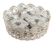 Ganz Vintage Crochet Basket
