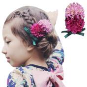 Susenstone Baby Girl Big Flower Hairpin Girls Flowers Hairpin Hair Accessories