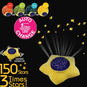 Le Petit Prince Washable Soft Star Plush Projector