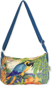 Guy Harvey Parrot Crossbody Handbag Blue/green multi