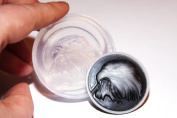 Clear-silicone Eagle mould.Size 40x30mm.Good for pendant,earrings,bracelet,trinket,art,craft.