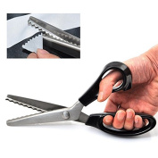 High Quality Pinking Shears Scissors Sewing Fabric Leather Craft Dressmaking Upholstery Tailor for Zig-Zag Tool