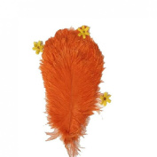 10PCS Ostrich Feather 20-25 cm Wedding Decoration Accessories Beautiful Crafts Plumage Artware