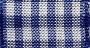 Vichy Plaid Ribbon in Royal Blue by Morex Corp.