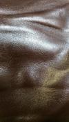 Dark Brown Weekender 19-2sqm Two Tone Soft Upholstery Handbag Cowhide Genuine Leather Cow Hide Skin NAT Leathers