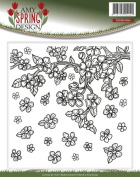 Find It Trading Amy Design Embossing Folder-Spring