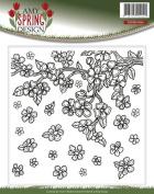 Find It Trading Amy Design Embossing Folder-Spring