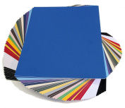topseller100, Pack of 50 sheets 11x14 UNCUT mat matboard MIX Colour