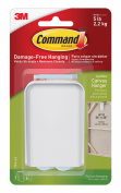Command 17045-ES Jumbo Canvas Hanger, 2-Hooks, 4-Large Strips