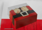 Christmas Santa Claus Treat Boxes