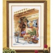 Vervaco Counted Cross Stitch kit - Flower Shop New!