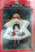 "Angel ornaments ""Christmas is Love"" cross-stitch Kit 351402"