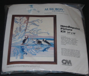 36cm x 46cm Bufflehead Ducks Needlepoint Picture Kit