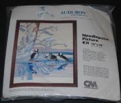 36cm x 46cm Bufflehead Ducks Needlepoint Picture Kit