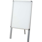 World Craft aluminium poster frame type A signboard A2 one side