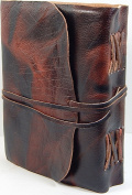 Barner Books Rustic Verigated Leather A5 Journal 13cm x 18cm Sketchbook