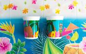 Hawaiian Luau Tiki Drink Tableware Decorations 14pc Party Pack