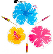 Veil Entertainment Hawaiian Party Luau Table Top Decorations 16pc Party Pack