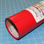 ThermoFlex Plus Iron on Red Heat Transfer 38cm x 0.9m Roll