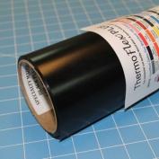ThermoFlex Plus Iron on Black Heat Transfer 38cm x 0.9m Roll