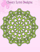 Cheery Lynn Designs Canadian Kaleidoscope Tiny Doily DL235