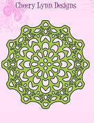 Cheery Lynn Designs Canadian Kaleidoscope Tiny Doily DL235