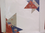 2 Sided 12 x 12 Pre Made *Picnic/4th of July* Scrapbook Pages