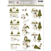 Find It Trading Precious Marieke Rust Christmas Punchout-