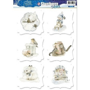 Find It Trading Yvonne Creations Winter Wonderland Punchout-