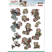 Find It Trading Yvonne Creations Cosy Christmas Punchout-