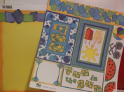 Paper Garden - I Cardstock Paper & 1 Ready Cuts *Fun in the Sun & Fun in the Sun Torn* 12 x 12 Sheets