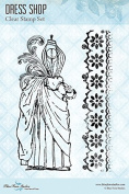 Blue Fern Studio - Clear Stamp Set - Dress Shop