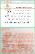 PK-180 Erkle and Merkle, Peachy Keen Stamps Clear Face Assortment