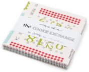 The Cookie Exchange Charm Pack By Sweetwater; 110cm - 13cm Precut Fabric Quilt Squares