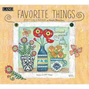 Cal 2017 Favorite Things 2017 Wall Calendar