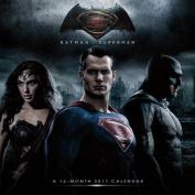 Batman Vs Superman Dawn of Justice Wall Calendar