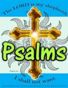 Psalms Coloring Books for Adults: Bible Verses Worship and Blessings That Cover Top Prayers