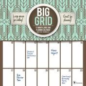 Cal 2017 Big Grid Design 17-Month