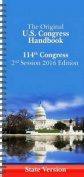 Us Congress Handbook: 2016