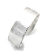Ninjacrafters One (1) 0.6cm Sterling Silver Ring Blank for Hand Stamping 18 Gauge, Medium