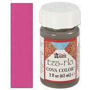 Eco-Flo Cova Colour 60ml Dark Pink Tandy Leather Item 2602-14