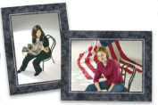 Cardboard Photo Easel Frame - 5x7 - Pack of 50 Marble