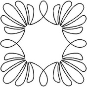 Quilting Creations Shell Wreath Quilt Stencil