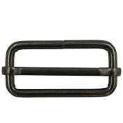 """Bluemoona 20 Pcs - 38mm 1.5"""" Metal Adjuster Triglides Slides 4 Webbing Belt Strap Srtip"""