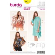 Burda Sewing pattern, 6935 - Shirt and Dress