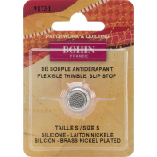 Bohin Silicone Thimble with Steel Top, Small